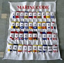 Naval Signal Flags / Flag SET- Set of 40 flag with CASE COVER - Boat Flags