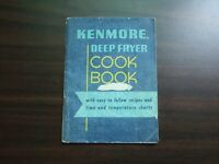 Vtg Kenmore Deep Fryer Cook Book Time & Temp Recipes Booklet Instructions Manual