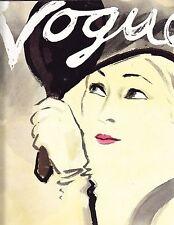 VOGUE February 15 1932 Eric Cecil Beaton Anton Bruehl Natalie Paley Huene Lepape