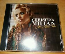 CHRISTINA MILIAN  --  ITS ABOUT TIME  -- RARE INDIE R&B  CD
