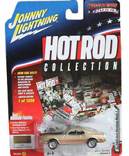 Johnny Lightning JLMC004 Hot Rod 1969 Ford Mustang Mach 1 Ver A Champagne Gold