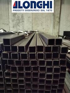 In acciaio inox quadrato Rettangolo quadrangolare riquadro PROFILO ASTA DI TUBO v2a lunghezza 2,0-2,6m