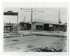Vintage Street Market, Texas - Vintage 8x10 Photograph - San Antonio