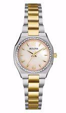 Bulova Women's 98R204 Diamond Gallery Quartz Two Tone Stainless Steel Watch