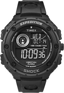 Timex Expedition T49983 Shock Resistant Sports Watch with, Indiglo Night Light