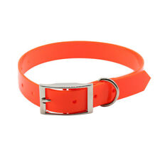 TPU+Nylon Pet Dog Collar Adjust Waterproof Necklace Collar For Dog Supplies