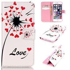 Flip Stand PU Leather Wallet Case Cover Patterned For iPhone 6 Plus/6s Plus