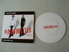 "THE RAVEONETTES Beat City/Experiment In Black 7"" white vinyl single"