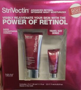 StriVectin Advanced Retinol Intensive Night Moisturizer w/ Bonus size SEALED Box