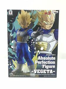 Vegeta Absolute Perfection Figure | Banpresto | Dragon Ball Z | Toei Sticker!