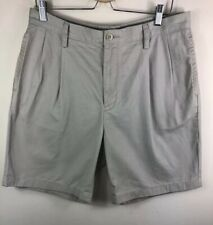 Mens NAUTICA Size 34W Chino Deck Shorts Summer