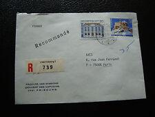 SUISSE - enveloppe 1980 (cy27) switzerland