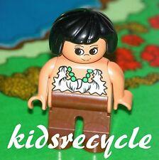 Lego DUPLO PREHISTORIC Caveman (Cave Man) Family Figure (Minifig) MUM WOMAN LADY