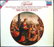 Sir Georg SOLTI: HANDEL MESSIAH Kiri Te Kanawa Gjevang LKeith Lewis Howell 2CD