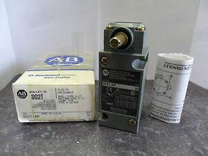 New Allen Bradley 802T-AP Limit Switch Oiltight Ser. H ENCL.Type 4,13  NIB