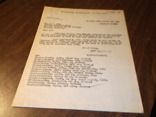 MARCH 1936 WABASH RAILWAY LETTER TO BELT RAILWAY OF CHICAGO CLEANING FREIGHT CAR