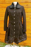 manteau col fourrure M& FRANCOIS GIRBAUD taille M  NEUF ÉTIQUETTE valeur 950€