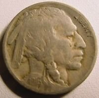 1916 BUFFALO NICKEL Fine Condition F Indian Head Bison Nickel