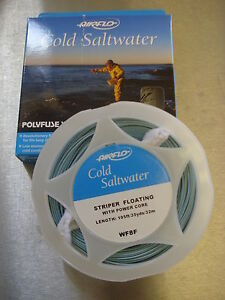 Airflo Cold Saltwater 7wt 8wt 9wt 10wt 11wt 12wt Bass Sea Salmon Pike Fly lines