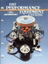 Ford 1987 Svo Motorsport Performance Equipment Catalog