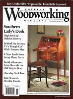 Popular Woodworking Magazine Southern Lady Desk Bowsaw Build Tool Tote 2011