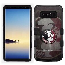 Samsung Galaxy Note 8 Rugged Hard+Rubber Hybrid Case Florida State Sem