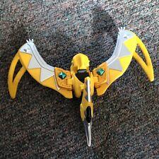 Power Rangers Yellow Dino Thunder Ptera Zord Thundersaurus Megazord Figure
