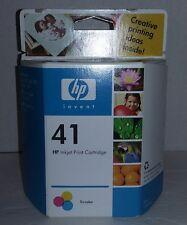 HP 41 TRI-COLOR InkJet Printer Ink PRINT CARTRIDGE ~ OEM Expired  NEW IN BOX