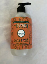 Mrs Meyers Clean Day Limited Edition PUMPKIN Pump Hand Soap Olive Oil Aloe Vera