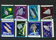 Hungary, 1964, Space, S.c. # 1562 - 1569, set of 8 mnh stamps.