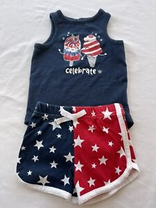 GUTTEAR Independence Day Mommy&Me Baby Girl Family Summer Sleeveless 4th of July Vest American Flag Dress
