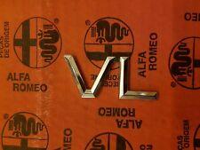 NEW NOS emblem badge alfa 33 VL 60581644
