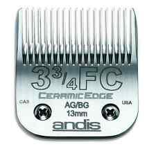 """Andis CeramicEdge # 3 3/4 FC Clipper Blade #64435 1/2""""  13.0mm (Size #3.75) NEW"""