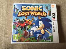 Sonic Lost World Nintendo 3DS - Neuf sous blister - Version française