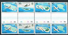 Tuvalu 1979 Internal Air Service Gutter Prs SG127-30 MNH