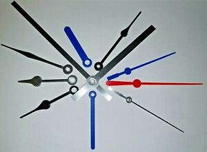 New Replacement Quartz  Clock Hands to fit Quartz Clock Movement Press Fit