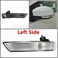 Left Passenger Wing Mirror Indicator Turn Signal Light Lens Cover For Ford Focus