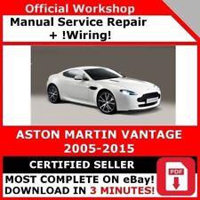 ASTON MARTIN DB7 V12 WORKSHOP SERVICE MANUAL DOWNLOAD