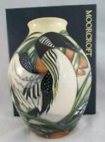 Moorcroft Pottery Torridon BIRD Vase Philip Gibson Bird In Flight 1st Quality !!