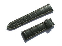 Longines 21mm Armband L682120178 schwarz Croco black 21/18 75/115 NEW I149