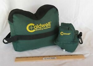 Caldwell Shooting Range Front & Rear Bags Rest filled Nice