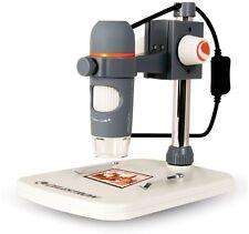 Microscopio Digital Profesional Portátil Celestron Pro 5mp USB DIAPOSITIVAS FOTOS NUEVO
