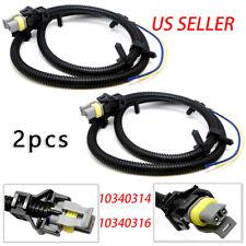 2X ABS Wheel Speed Sensor Wire Harness For Chevrolet Impala Monte Carlo Uplander