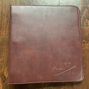 Vintage Nike 3 Ring Binder Time Systems USA Made