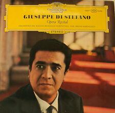 """GIUSEPPE DI STEFANO OPERA RECITAL BRUNO BARTOLETTI 12"""" LP (h762)"""