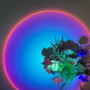 Rainbow Sunset lamp, LED Projector, LED Projection Lights Night Lights Romantic