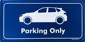 Parking Only - Subaru Impreza GR WRX STi - Aluminiumschild