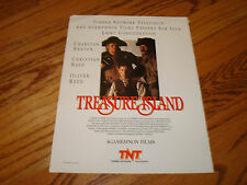 TREASURE ISLAND 1990 Emmy ad Charlton Heston, Christian Bale & NIGHTMARE YEARS