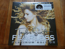 Taylor Swift - Fearless DBL Clear Metallic Vinyl LP 2018 Record Store Day NEW!!