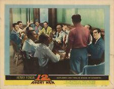 12 Angry Men 1957 U.S. Scene Card